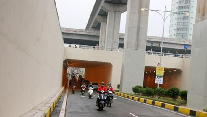 Hai hầm chui nghìn tỷ ở Hà Nội trong ngày thông xe - ảnh 5