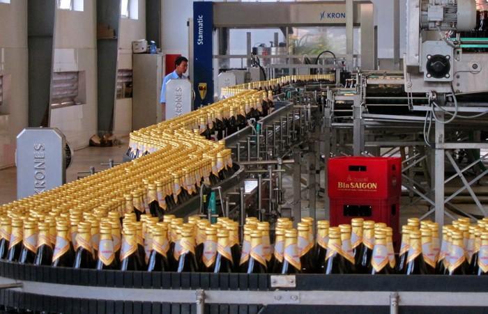 Tài chính và thương hiệu là lợi thế khi doanh nghiệp rượu bia bán cổ phần cho đối tác ngoại. Ảnh: Lê Tiên