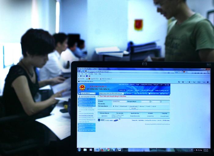 Hệ thống e-GP sẽ thu hút khoảng 10.000 cơ quan chính phủ và 120.000 nhà cung cấp tham gia.  Ảnh: Nhã Chi