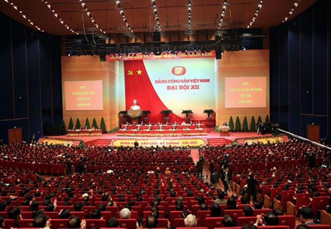 [CHÙM ẢNH] Khai mạc Đại hội lần thứ 12 của Đảng - ảnh 8