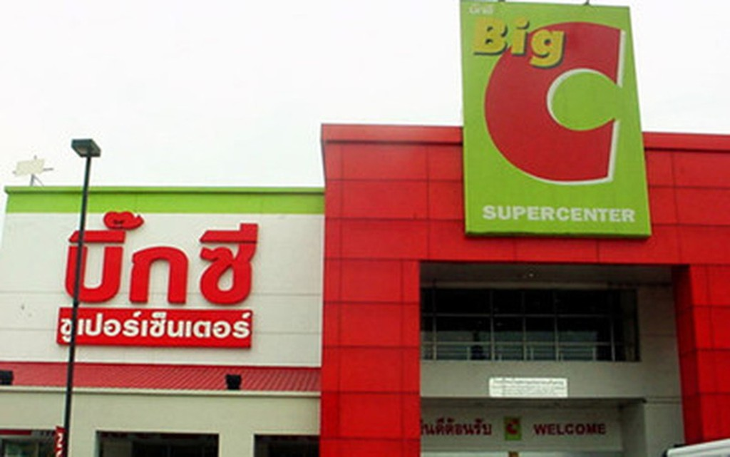 Chuỗi siêu thị Big C ở Thái Lan đã thuộc sở hữu của Tập đoàn TCC.(Ảnh minh họa: Internet)