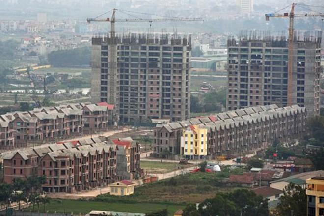 Năm 2015 tồn kho bất động sản của doanh nghiệp vẫn tiếp tục tăng cao. Ảnh: Hoàng Hà