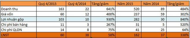 LDG hợp nhất: LNST quý 4 tăng 56% nhờ chuyển nhượng BĐS - ảnh 1
