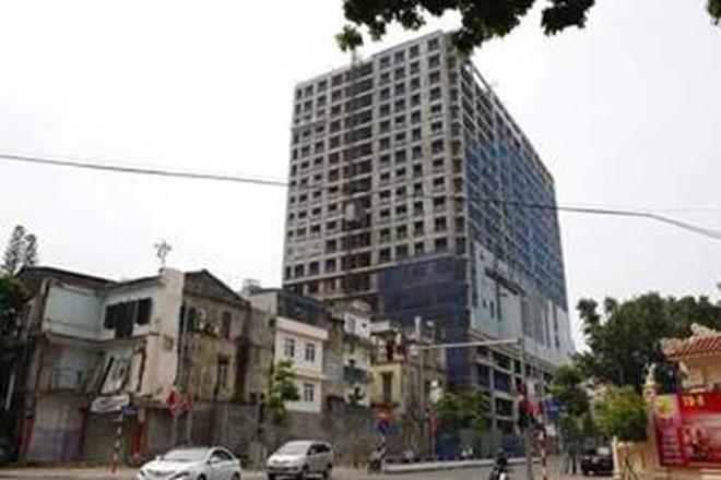 Về dự án nhà cao tầng tại số 8B Lê trực, Ba Đình, Hà Nội: Bộ Xây dựng trả lời cư tri Quốc hội