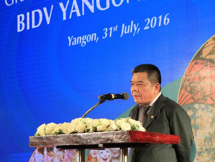 Khai trương Chi nhánh BIDV Yangon tại Myanmar - ảnh 1