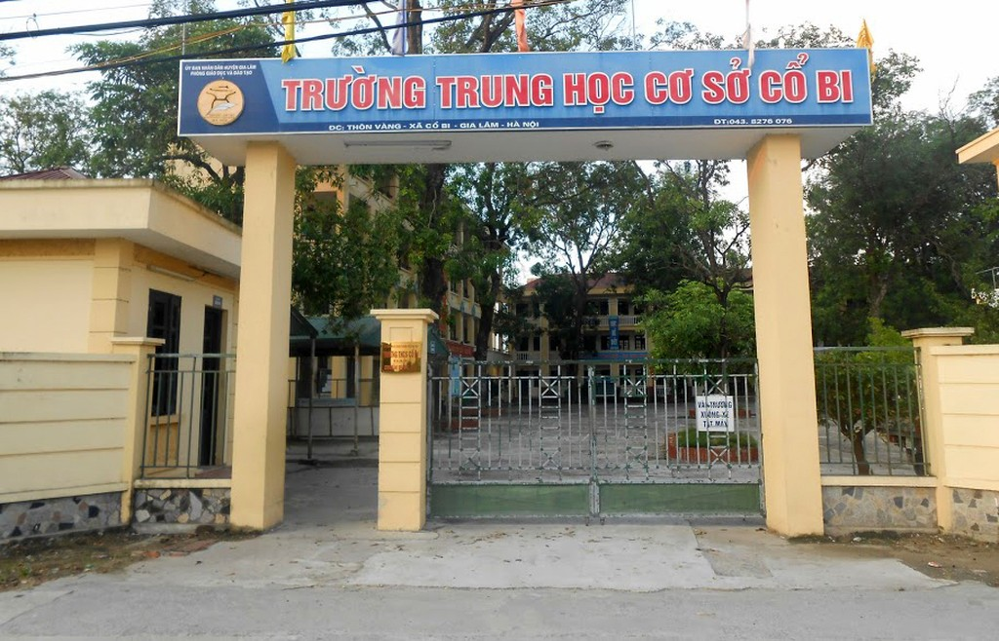 Ban QLDA huyện Gia Lâm đã không thẩm định tổng mức đầu tư của Dự án Trường THCS Cổ Bi theo quy định. Ảnh: Nguyễn Duy