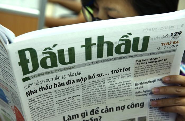 Vụ cướp hồ sơ dự thầu Gói thầu Sửa chữa, nâng cấp hệ thống kênh chính EaKao tại Đắk Lắk đã được phản ánh trên Báo Đấu thầu. Ảnh: Lê Tiên