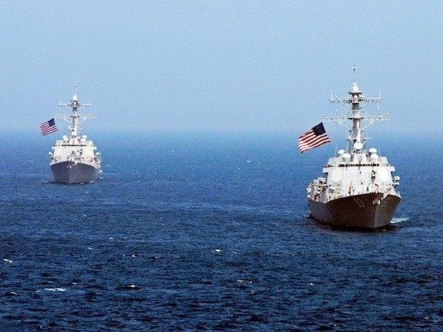 Tàu hải quân Mỹ. (Nguồn: Getty Images)