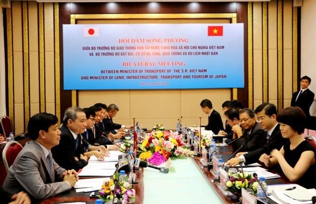 Mối quan hệ hợp tác chặt chẽ giữa hai nước Việt Nam – Nhật Bản trên mọi lĩnh vực, đặc biệt lĩnh vực GTVT đã đạt được nhiều thành công.