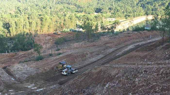 UBND tỉnh Thanh Hóa đã chấp thuận đầu tư một nhà máy nước khác với đường ống nước thô đưa về hồ Quế Sơn. Ảnh: Nguyễn Văn