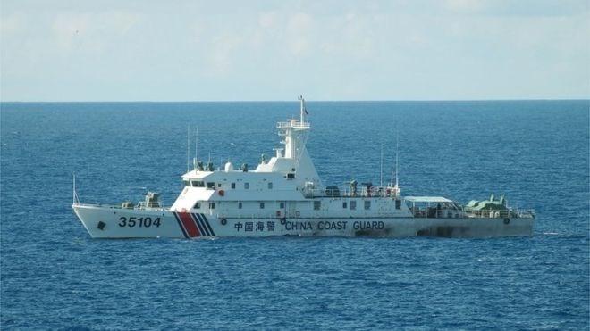 Một tàu hải cảnh của Trung Quốc. (Nguồn: AFP)