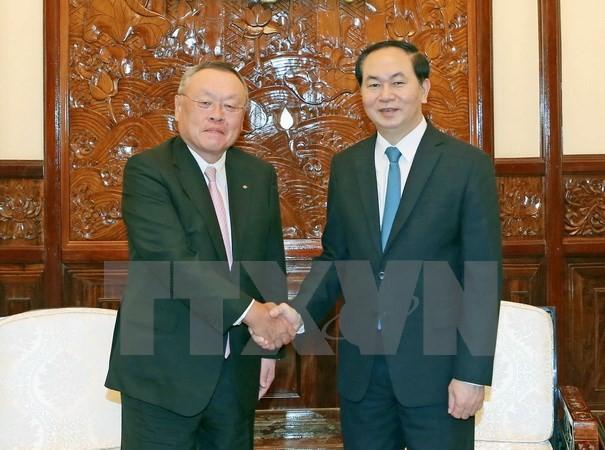 Chủ tịch nước: Việt Nam-Nhật Bản còn nhiều tiềm năng hợp tác kinh tế - ảnh 1