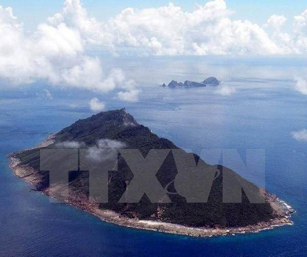 Toàn cảnh đảo Senkaku trên biển Hoa Đông. (Nguồn: AFP/TTXVN)