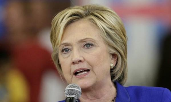 Cựu ngoại trưởng Mỹ Hillary Clinton một lần nữa phản đối TPP. Ảnh: AP