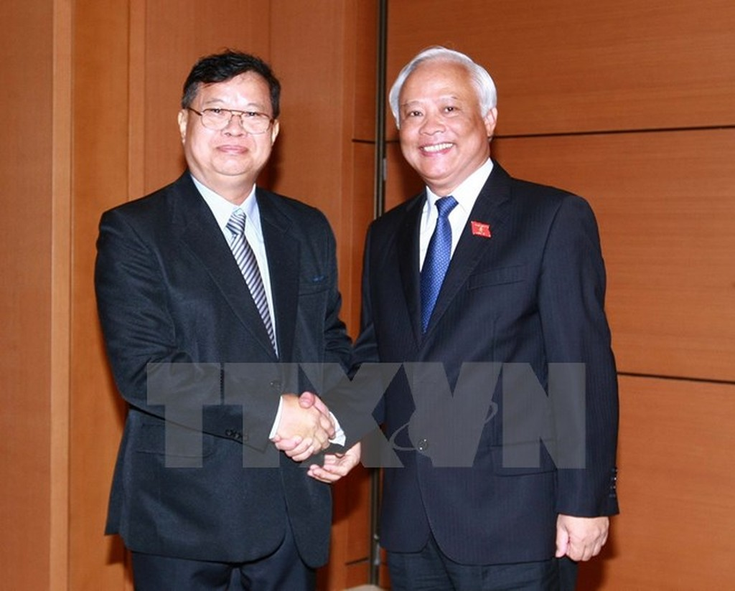 Thúc đẩy quan hệ hữu nghị, hợp tác giữa Quốc hội Việt Nam-Lào - ảnh 1