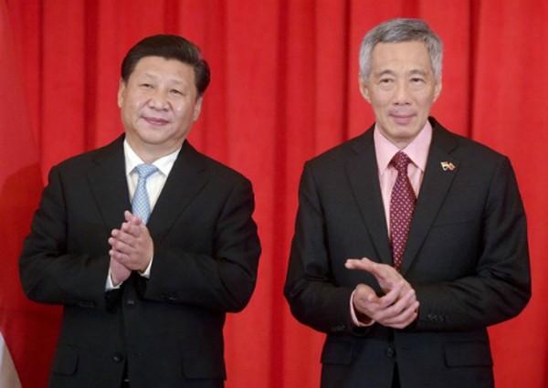 Biển Đông gây sóng gió quan hệ Trung Quốc - Singapore - ảnh 1