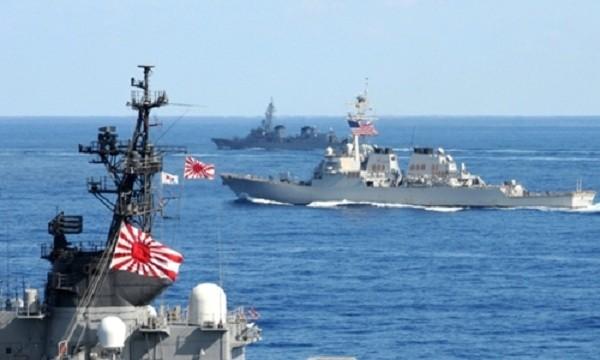 Trung Quốc cảnh báo Nhật Bản không nên tuần tra chung với Mỹ ở Biển Đông. Ảnh minh họa: US Navy.