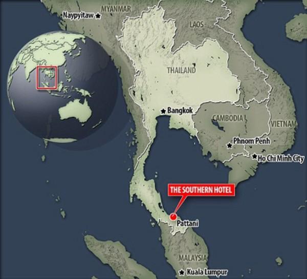 Nổ bom ở thị trấn biển nam Thái Lan - ảnh 1