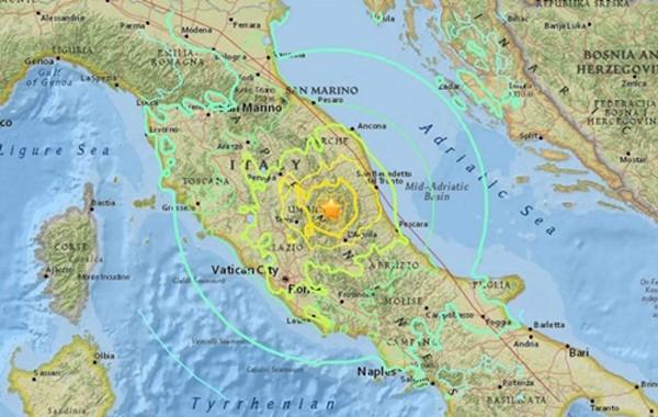 159 người thiệt mạng trong động đất ở Italy - ảnh 1