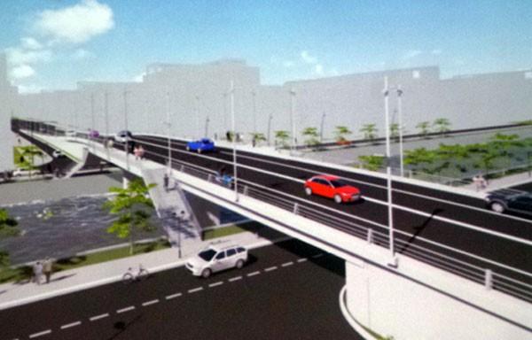 Gần 180 tỷ đồng xây mới cầu bị nứt sau mưa ở Sài Gòn - ảnh 1