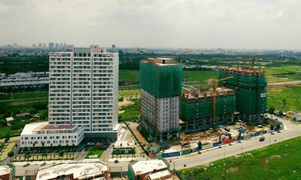 Theo dự báo của JLL, căn hộ bình dân có thể tăng giá 10% mỗi năm trong 3 năm tới, tương đương tổng mức tăng cho chu kỳ này là 30%. Ảnh:Hao Bui