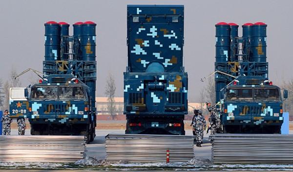 Một hệ thống tên lửa HQ-9 của Trung Quốc. Ảnh: Defensenews