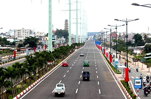 Đường nội đô đẹp nhất TP HCM được thông xe toàn tuyến - ảnh 1