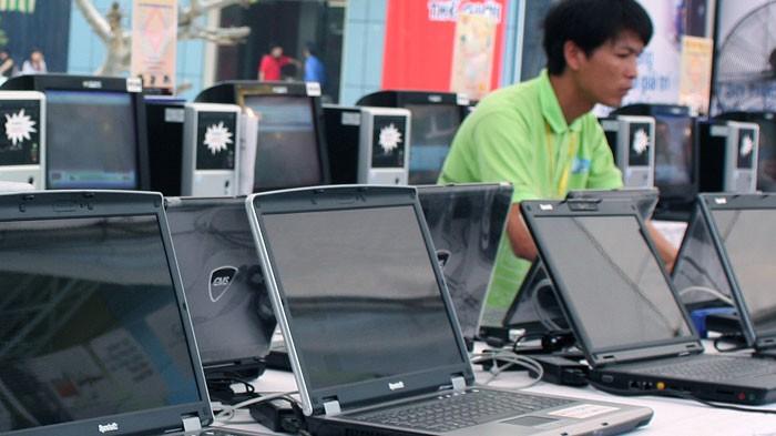 Công ty TNHH Thương mại tổng hợp Minh Long trúng Gói thầu số 3 thuộc Dự án Trang bị hệ thống CNTT tại trụ sở mới của Tổng công ty Điện lực miền Bắc. Ảnh: Nhã Chi
