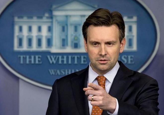 Người phát ngôn Nhà Trắng Josh Earnest. (Nguồn: AP)