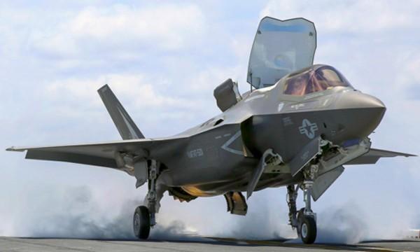 Tiêm kích F-35B của thủy quân lục chiến Mỹ. Ảnh:MarineTimes