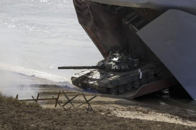 Cuộc tập trận phô diễn sức mạnh của Nga ở Crimea - ảnh 7