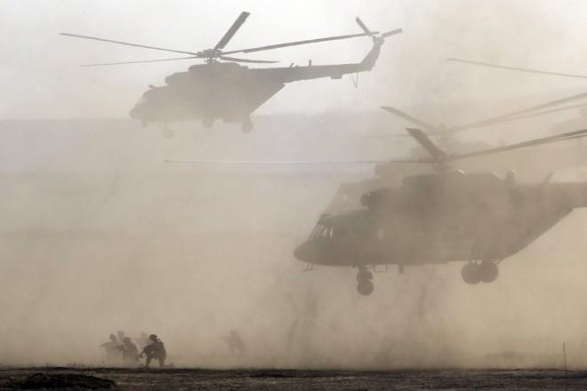 Cuộc tập trận phô diễn sức mạnh của Nga ở Crimea - ảnh 8