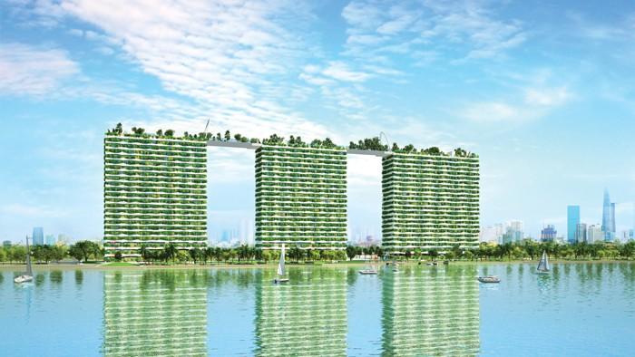 DiamondLotus Riverside - Biểu tượng xanh giữa lòng Sài Gòn hoa lệ