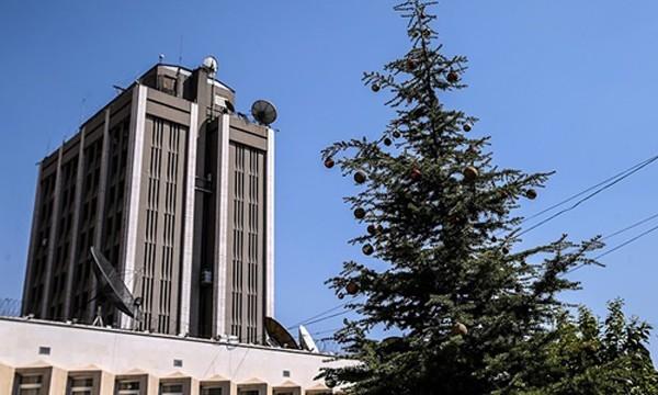 Đại sứ quán Nga tại Damascus, Syria. Ảnh:Tass.