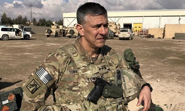 Trung tướng Stephen Townsend. Ảnh:Reuters.