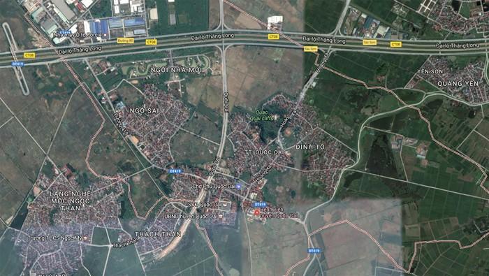 Đa số công trình mà Công ty TNHH Phú Thái Bình trúng thầu trong năm 2016 đều nằm trên địa bàn huyện Quốc Oai