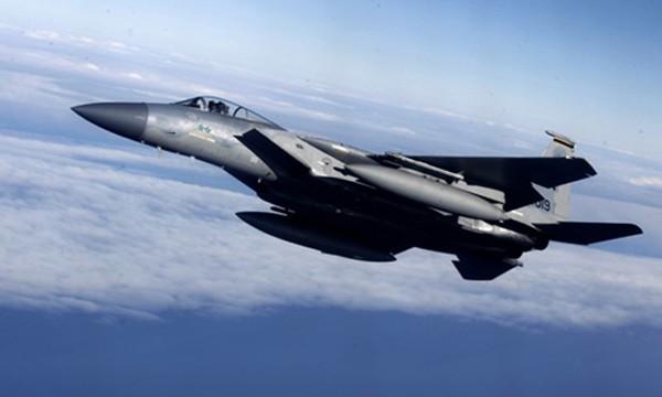 Chiến đấu cơ F-15 của Mỹ. Ảnh:Reuters.