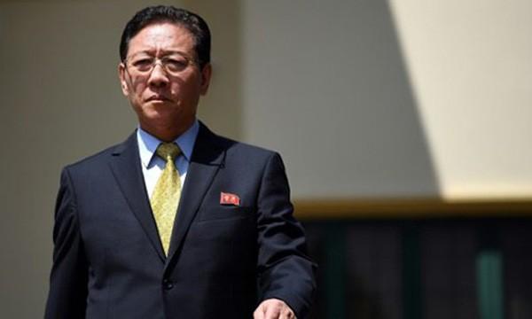 Đại sứ Triều Tiên tại Malaysia Kang Chol. Ảnh: AFP