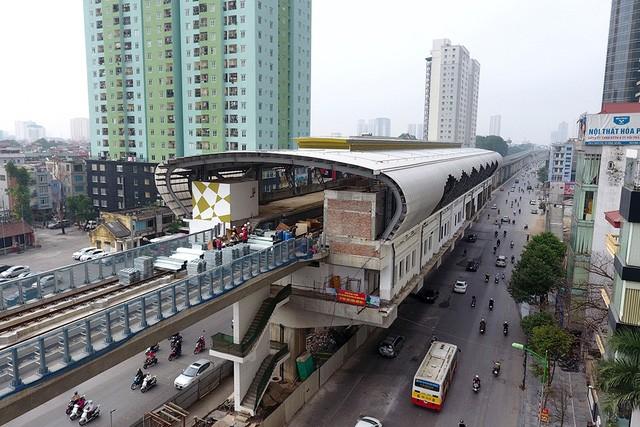Trải nhiệm Hà Nội từ trên cao qua đường sắt đô thị Cát Linh - Hà Đông - ảnh 8