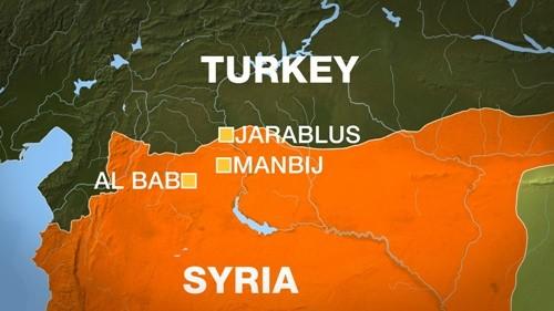 IS đánh bom tự sát ở Syria, 51 người chết - ảnh 1