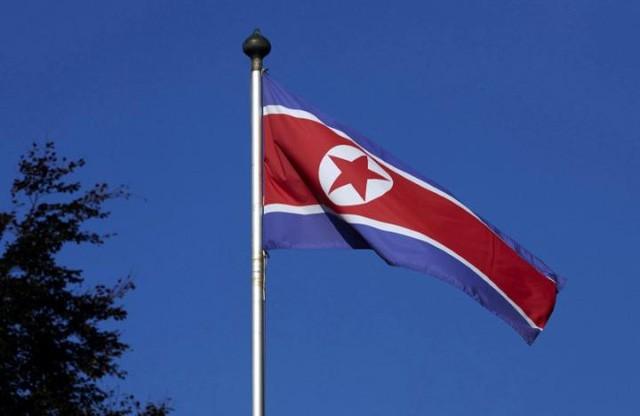 (Ảnh minh họa: Quốc kỳ Triều Tiên)