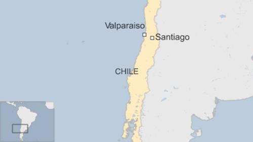Động đất 7,1 độ Richter rung chuyển thủ đô Chile - ảnh 1