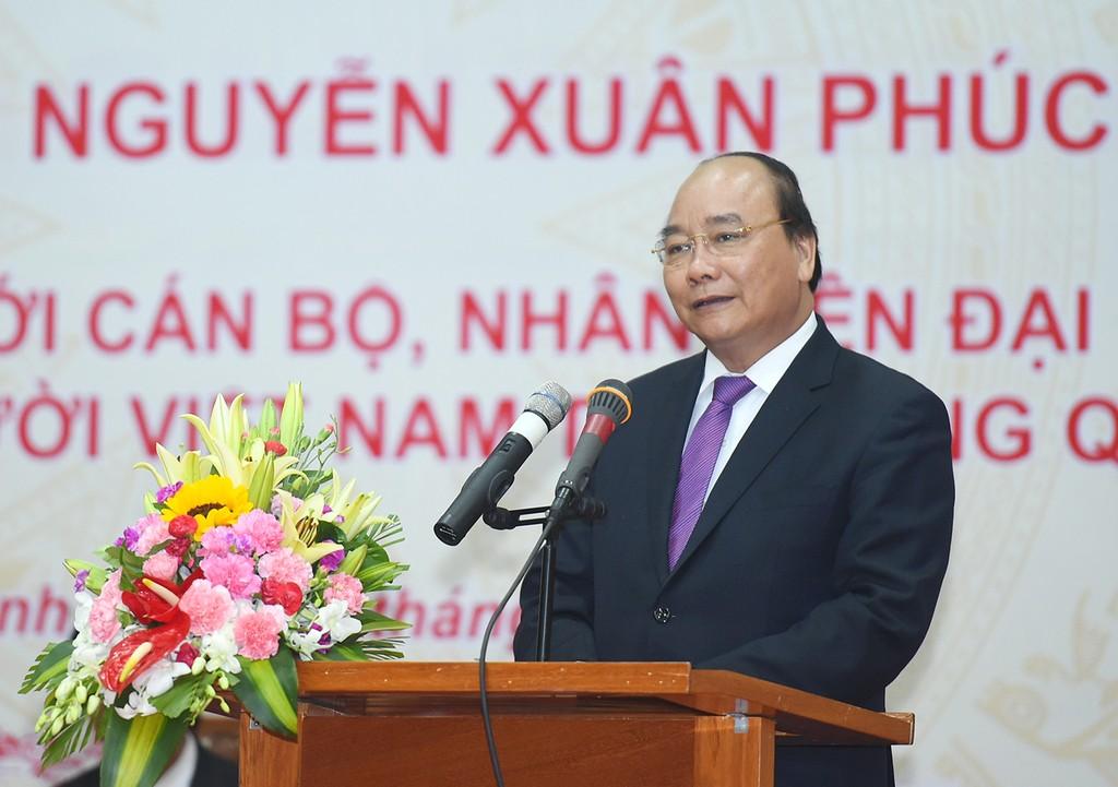 Thủ tướng Nguyễn Xuân Phúc thăm bà con kiều bào tại Campuchia - ảnh 1