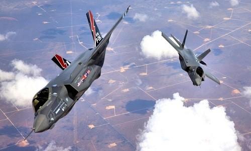 Tiêm kích F-35 của Mỹ. Ảnh:Wikipedia.