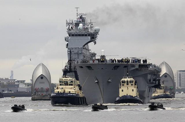 Những tàu sân bay mạnh nhất của hải quân các nước - ảnh 2