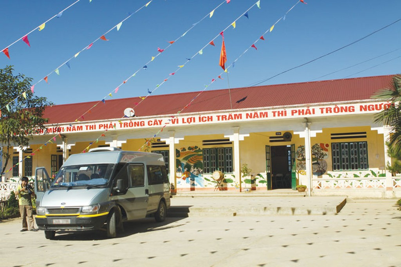 Theo thông báo điều chỉnh, thời gian phát hành HSMT Gói thầu Thi công xây dựng 2 trường THCS tại tỉnh Quảng Ngãi được đẩy sớm hơn tới gần 20 ngày. Ảnh: Nhã Chi