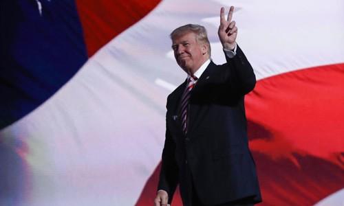 Tổng thống Mỹ Donald Trump sẽ đến châu Á vào tháng 11. Ảnh:AP