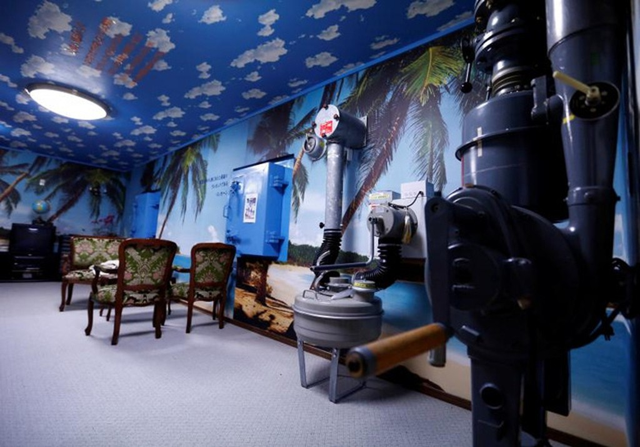 Bên trong hầm tránh bom hạt nhân ở Nhật Bản - ảnh 7