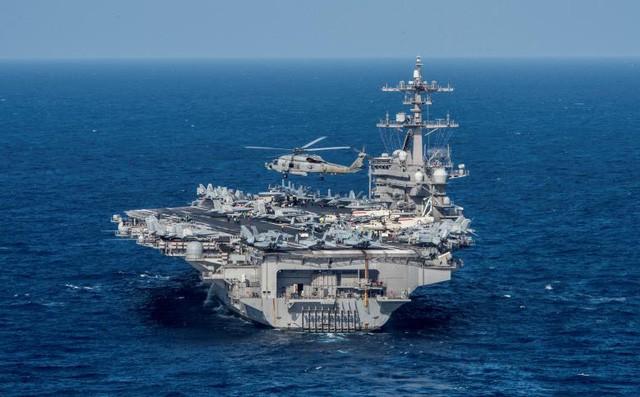 Cận cảnh tàu sân bay Mỹ trên đường tới bán đảo Triều Tiên - ảnh 2