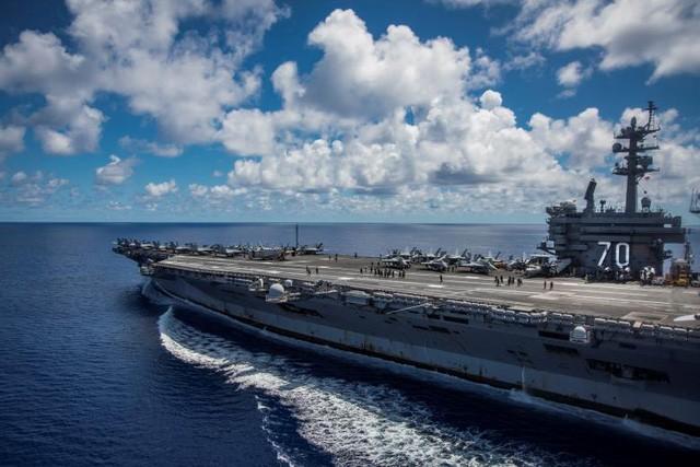 Cận cảnh tàu sân bay Mỹ trên đường tới bán đảo Triều Tiên - ảnh 6
